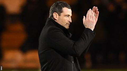 Jack Ross played for St Mirren for two seasons from 2008-2010