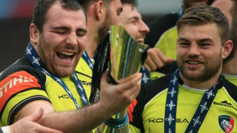 Leicester win Anglo-Welsh Cup