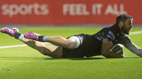 Glasgow Warriors winger Tommy Seymour