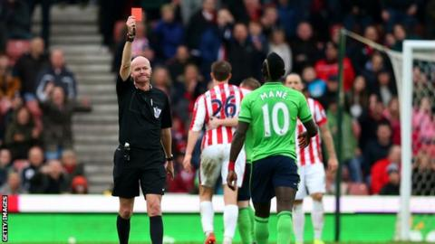 Sadio Mane scored a late equaliser against Liverpool in October and is available after having his red card overturned.
