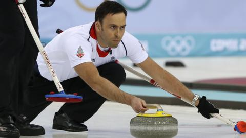 Olympic curler David Murdoch