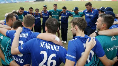 England physical disability cricketers