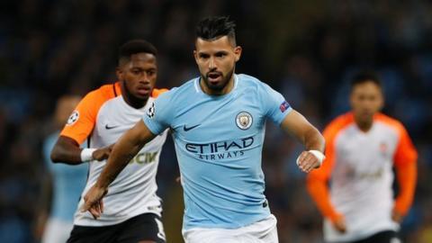 Sergio Aguero: Manchester City striker injured in Amsterdam accident