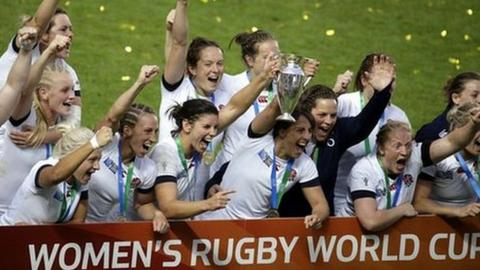 England win Women's Rugby World Cup