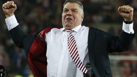 Allardyce in England manager talks