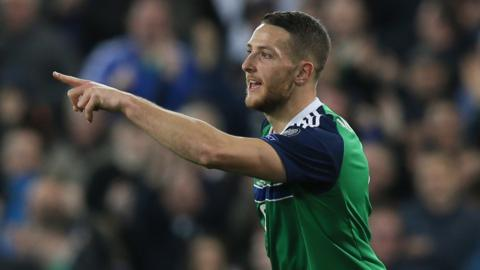 George Washington scores Northern Ireland's second goal