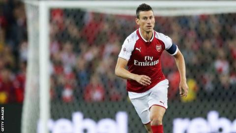 Koscielny: I have no reason to leave Arsenal or 'inspirational' Wenger