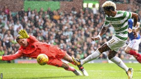 Celtic attacker Scott Sinclair