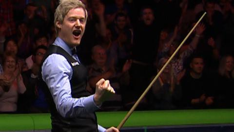 UK Championship: Neil Robertson makes 147 in final