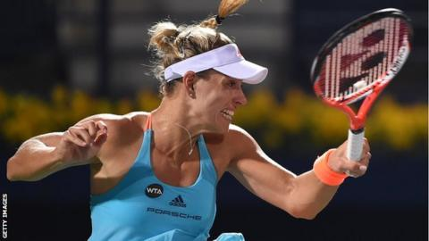 Angelique Kerber misses out on top ranking after loss against Elina Svitolina