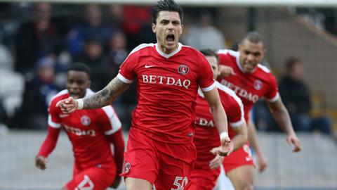 Jorge Teixeira had only scored once before for Charlton this season prior to his brace at Rochdale
