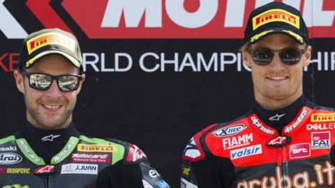 Jonathan Rea had to settle for second again behind Chaz Davies