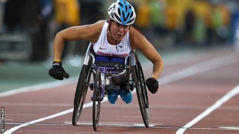 Hannah Cockcroft wins in Doha