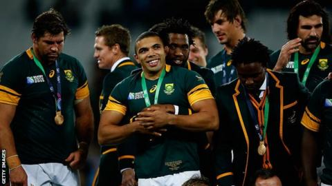 South Africa recommended to host 2023 Rugby Union World Cup