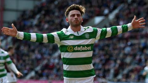 Celtic re-sign Patrick Roberts on loan