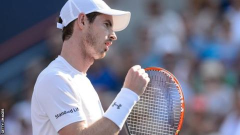 Andy Murray is unbeaten this year in matches when he has won the first set