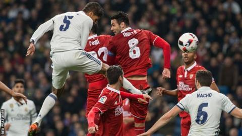 Real madrid 3 vs 0 Sevilla - Goals and highlights