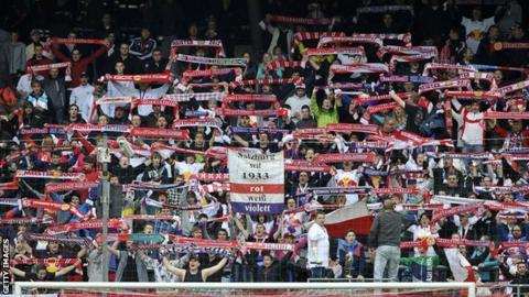 Red Bull Salzburg fans