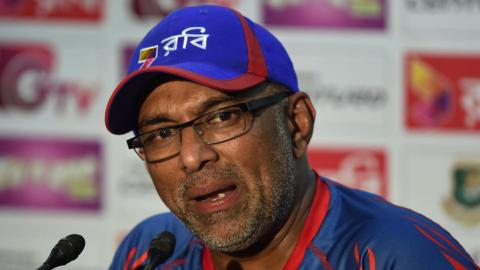 Chandika Hathurusingha helped Bangladesh qualify for the 2017 Champions Trophy in England ahead of West Indies
