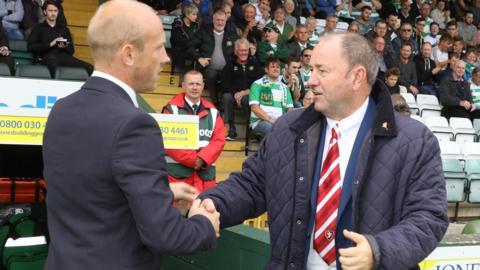 Gary Johnson (right)