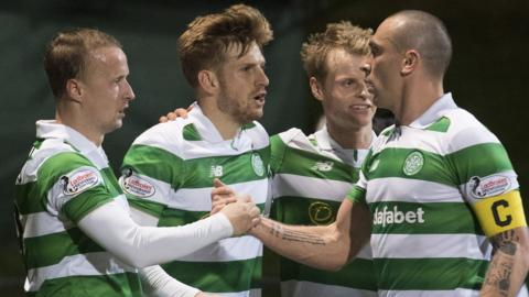 Stuart Armstrong fires Celtic in front
