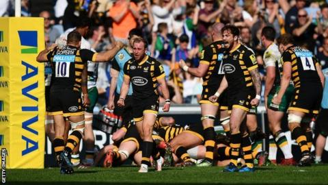 Loan signing Paul Doran-Jones' late introduction on his Wasps debut in April triggered the late pushover try which earned a dramatic last-gasp victory against Northampton at the Ricoh Arena