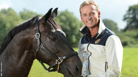 Carl Hester with Uthopia