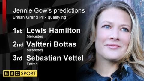 Jennie Gow's qualifying predictions