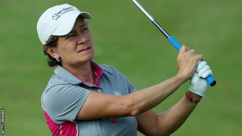 Catriona Matthew will bid to win her second major next week