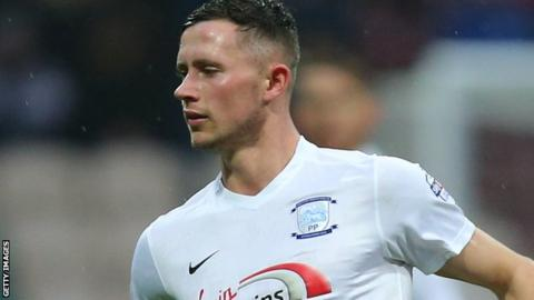 Preston North End's Alan Browne
