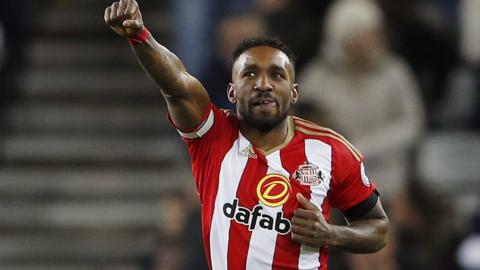 Jermain Defoe celebrates