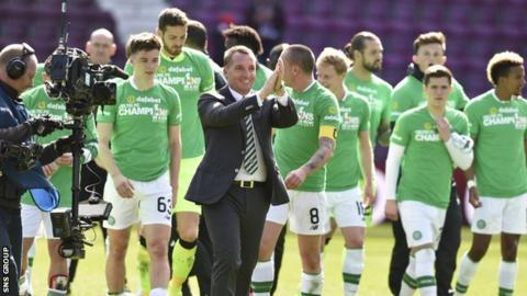 Celtic boss Rodgers praises 'top class' Rogic