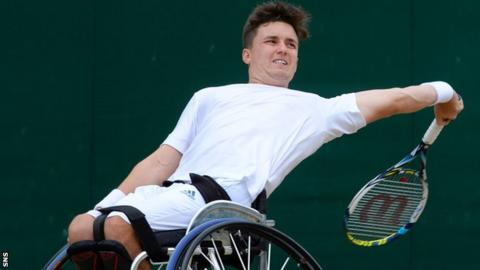 Gordon Reid is the world's top ranked wheelchair doubles player