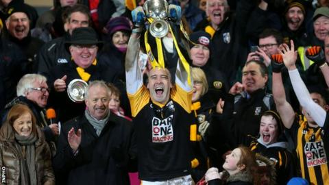 Paul Hearty captained Crossmaglen to the Ulster club title in 2015