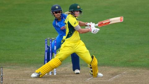 Rain holds up Australia, India women's World Cup semi-final