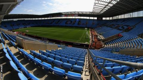 Coventry are yet to lose at home in the league this season, winning seven and drawing four