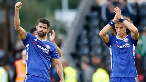 Chelsea celebrate win