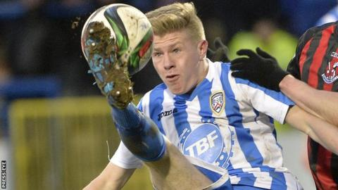 Full-back Lyndon Kane has chalked up nearly 100 appearances with Coleraine