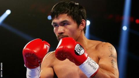 Boxing star Pacquiao plans to fight Vargas in November