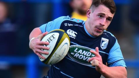 Harri Millard of Cardiff Blues