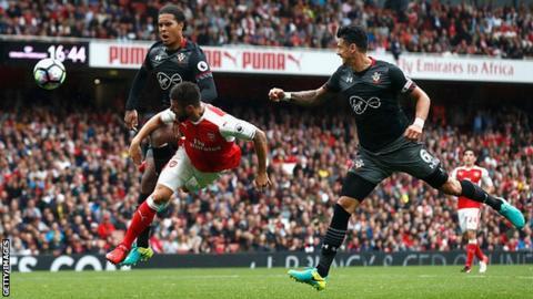 Elneny Arsenal midfielder was sick before EFL quarter-final loss to Southampton