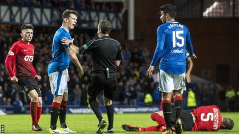 Rangers: Ryan Jack wins appeal against red card against Kilmarnock