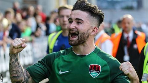 Sean Maguire scored 20 goals for Cork City last season and is rewarded with a senior international call-up