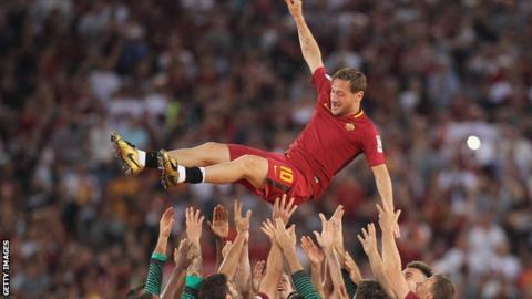 Totti becomes AS Roma team director