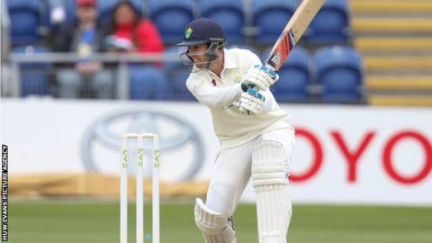 Chris Cooke's 84 for Glamorgan was his highest score of the season