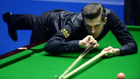 England snooker player Mark Selby
