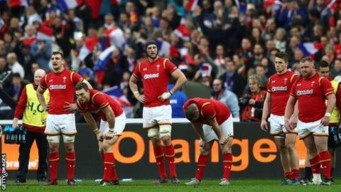 Wales lose in Six Nations