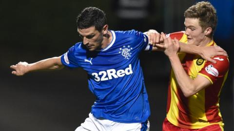 Graham Dorrans and Blair Spittal