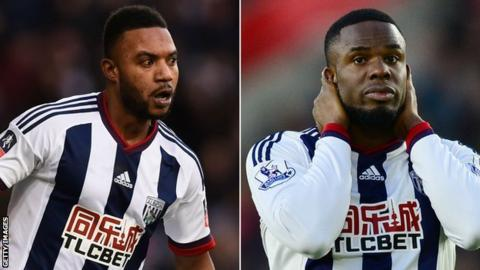 Stephane Sessegnon and Victor Anichebe