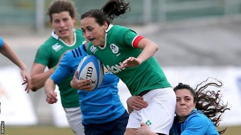 Ireland have recalled wing Hannah Tyrrell to their line-up for the Cardiff encounter